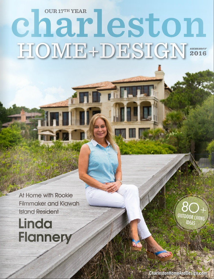 Colophon launches the website for popular lifestyle for Charleston home design magazine
