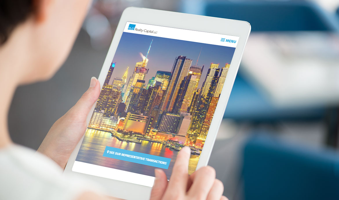 New Mobile Responsive Website for PMZ Realty Capital